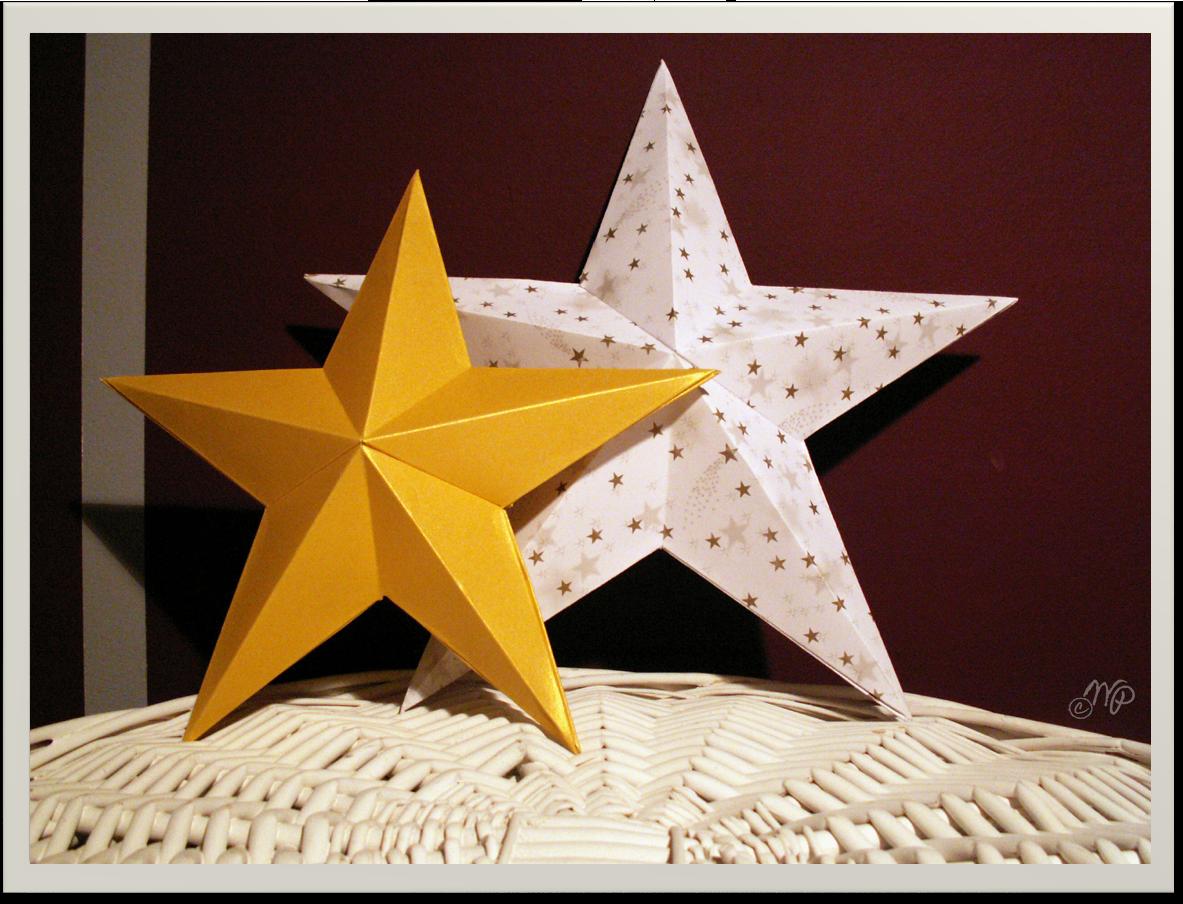 3d Sterne Wonderful Pieces