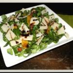 Feldsalat mit Speck und Orangen