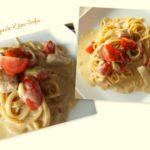 spaghetti speck-käse