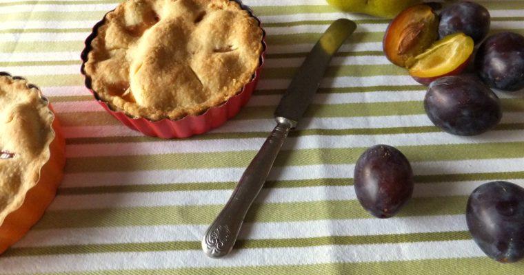 Pünktlich zur Saison – Pflaumen-Birnen-Pie