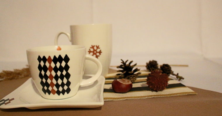 DIY: Einfache Porzellanmalerei – Tee-/ Kaffeetasse