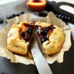blaubeer-pfirsich-galette