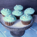 cupcakes mit zimttopping