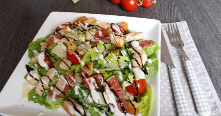 Salat mit Knuspergarantie