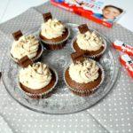 Kinderschokolade-Cupcakes