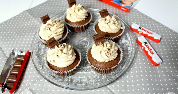 Saftige Kinderschokoladen-Cupcakes