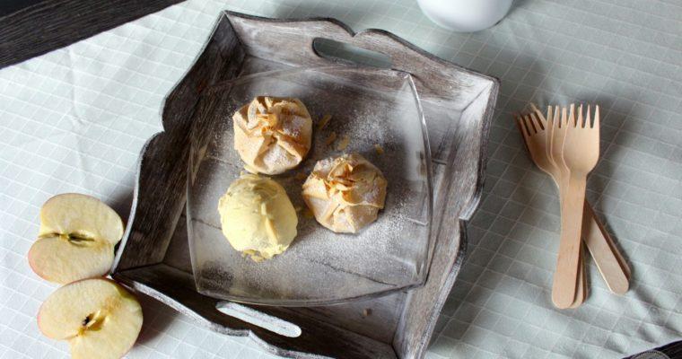 Mini Apfelstrudel-Küchlein
