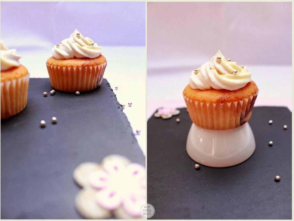 Heidelbeer-Cupcakes und Give Away zum Bloggeburtstag - wonderful pieces