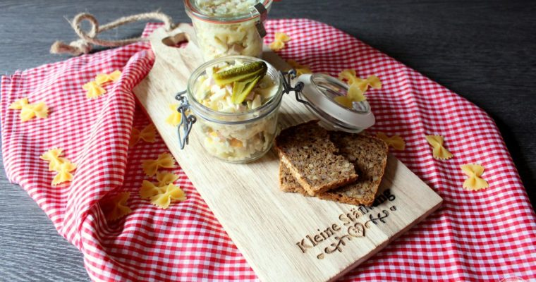 Nudelsalat – unser Familienrezept