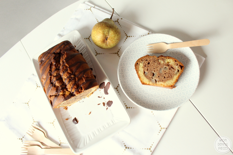 Gepimpter Klassiker – Marmorkuchen mit Birnen