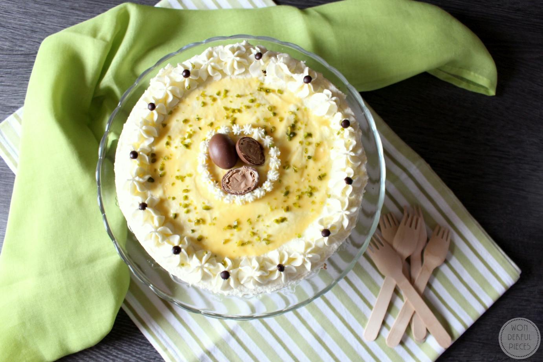 Perfekt zu Ostern: Nuss-Eierlikör-Torte