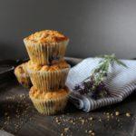 blaubeermuffins mit Streusel
